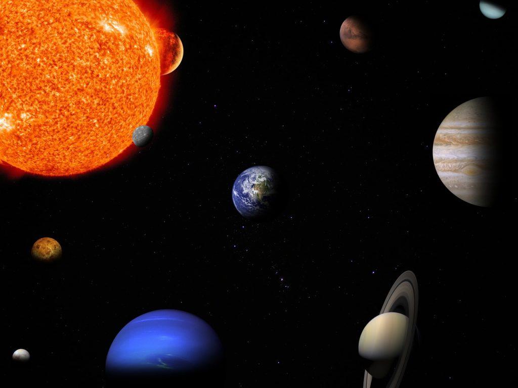 Reis door ons zonnestelsel