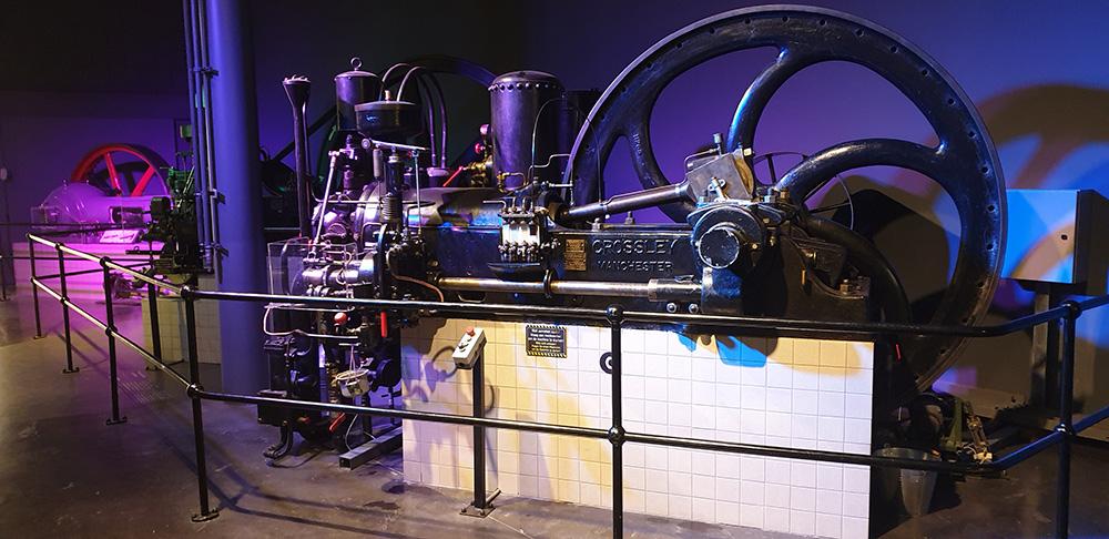 Industriele Revolutie Stoommachine